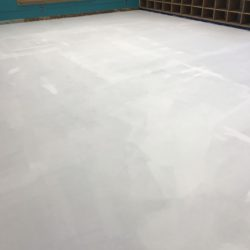 PerfectPrimer Over VCT Tile  In Classroom