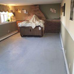 Mastic Floor Sealed
