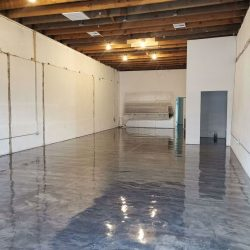Warehouse Floor Complete With Epoxy Finish