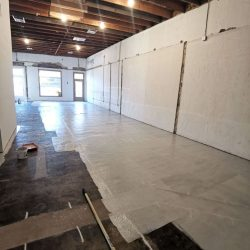 Perfect Primer Application On Warehouse Floor