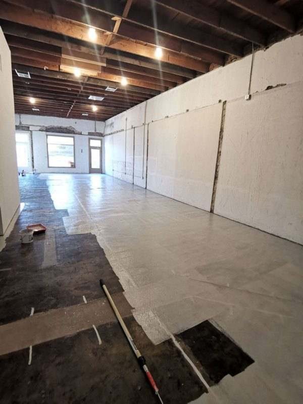 Warehouse-floor-perfect-primer-application