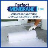 PerfectMembrane Deck waterproofing system and coatings primer in one