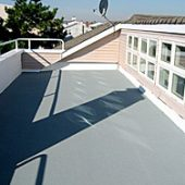 Sandrich on roof deck