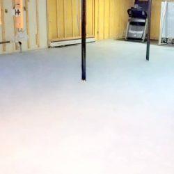 Basement Floor Complete
